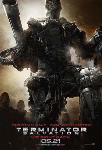 Terminator Salvation (2009) giant poster