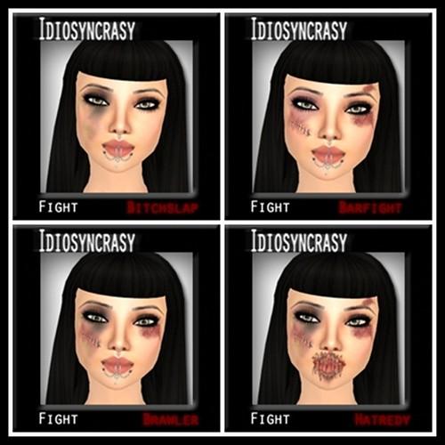 fight makeups