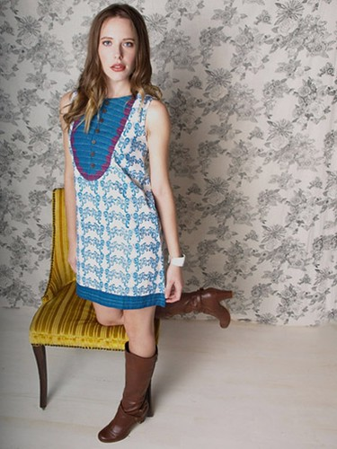 Mata Traders - dress_boulevard_blue