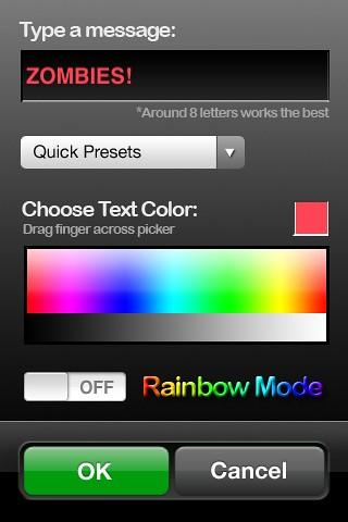 Light Writer iPhone App