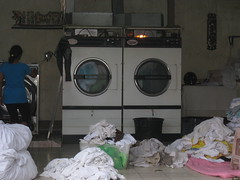 50 - Clothing dryers powered by fire
