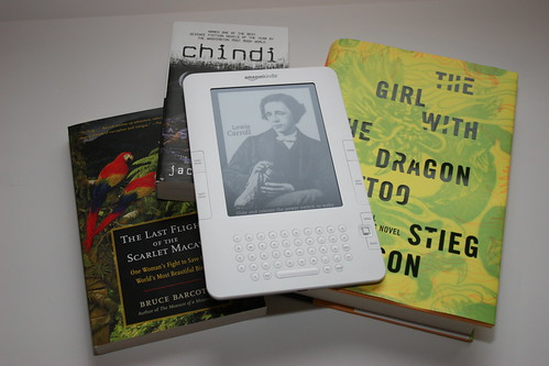 Kindle 2 with Books