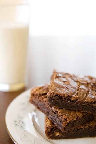 Peanut Butter Nutella Brownies