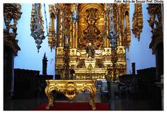 Altar do Mosteiro de São Bento. Foto: Ádria de Souza/Pref.Olinda