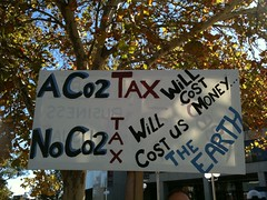 No CO2 tax will cost the earth