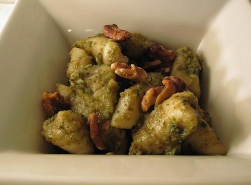 Gnocchi - cooked