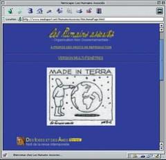 Site Web des Humains Associés / 1997 - Netscape (humains-associes.org)