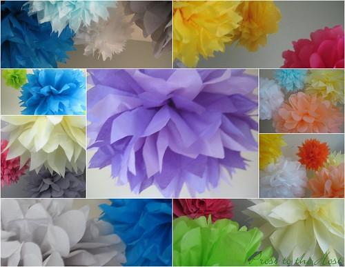 Poms collage