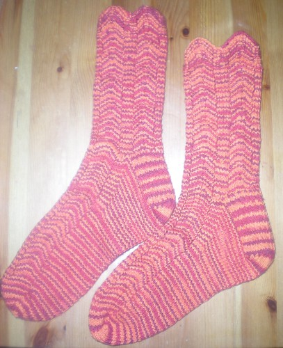 Katy's Socks DONE!