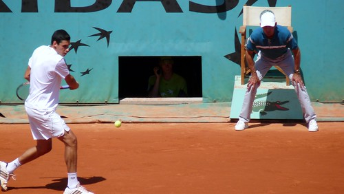 Victor Hanescu - 3ème tour de Roland Garros 2009 - tennis french open