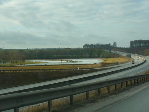 The motorway to Lund