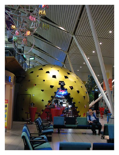Schiphol airport by you.