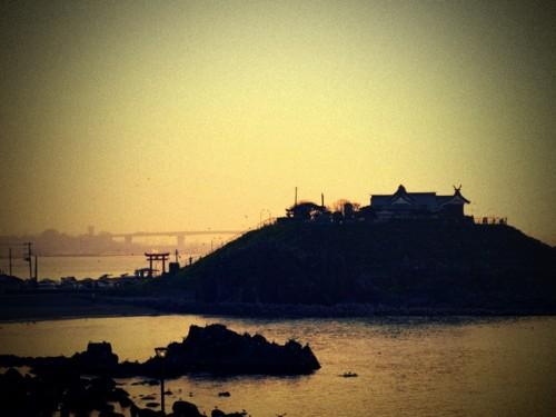 蕪島 LOMO風