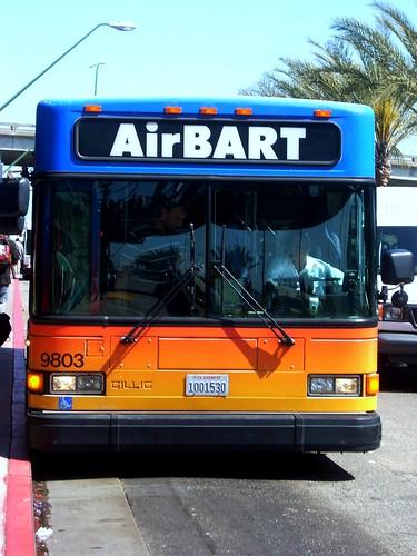 AirBART Bus