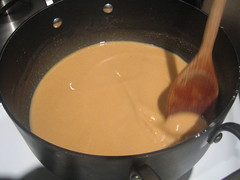 roux, 10 minutes in