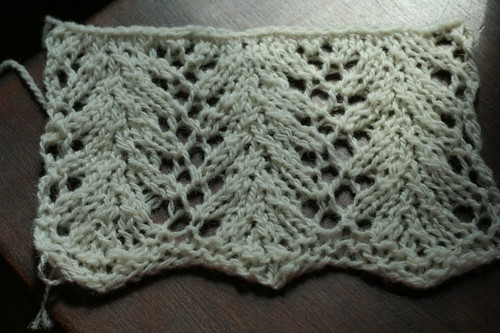 Swatching a spring project