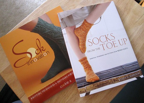 104/365: New Sock Books