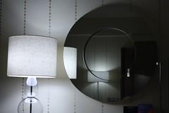 Doppia lampada in doppio specchio