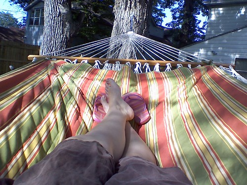 This hammock is awesome