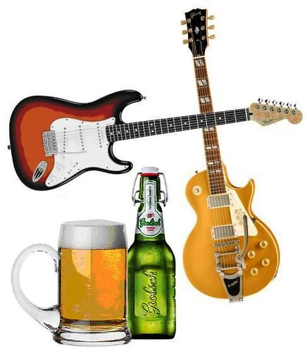 Drinking Beer Can Make You a Better Guitarist