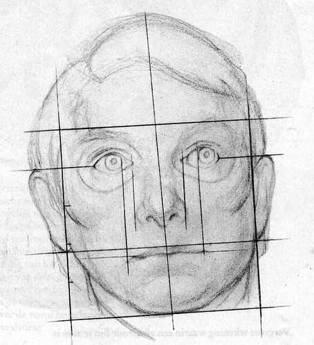 How to Draw a Face - the sketch