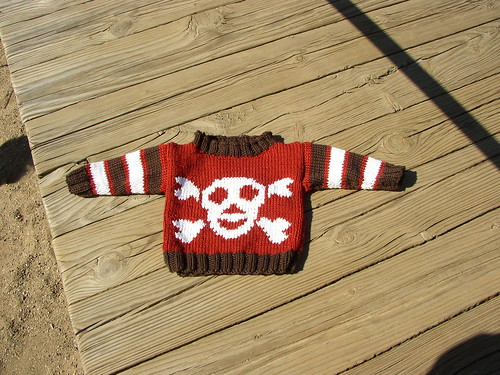 pirate sweater