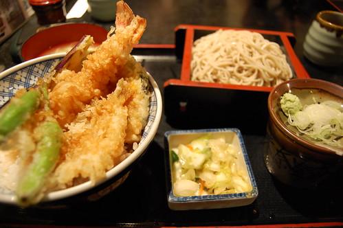 Soba Restaurant Dinner