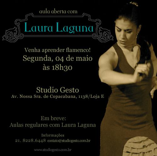 Aula Aberta com Laura Laguna