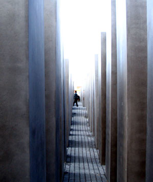 Holocaust Memorial, Berlin. Photo: Ulla Hennig