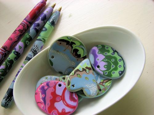 Pens and pendants