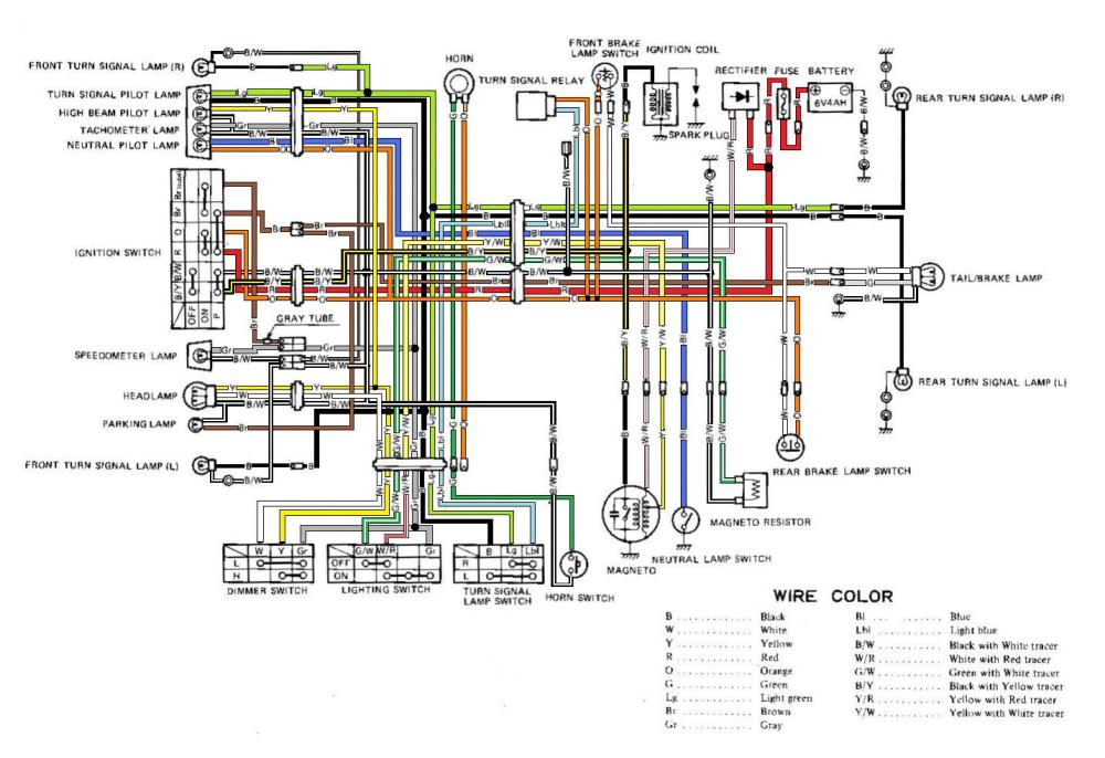 medium resolution of suzuki ts250 wiring diagram wiring diagram schematics suzuki gsxr 750 wiring diagram suzuki gt380 wiring diagram