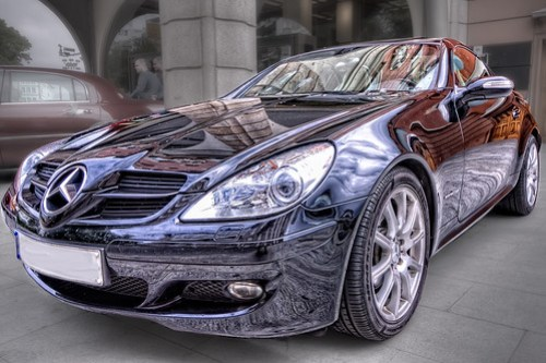 Mercedes Benz SLK 200 HDR