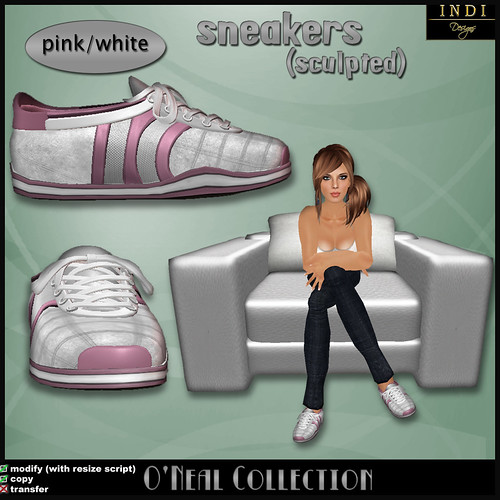 O'Neil sneakers pink/white