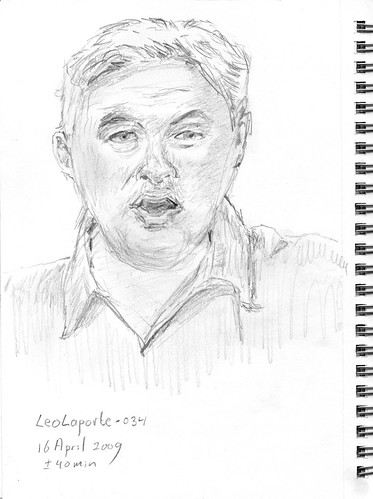 Drawing Leo Laporte, part 19