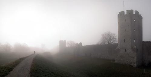 Fler än jag var på promenad i dimman. Ulf Bodin 2009