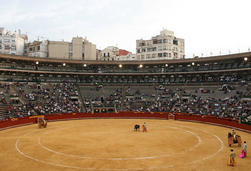 Bullfight in Valencia