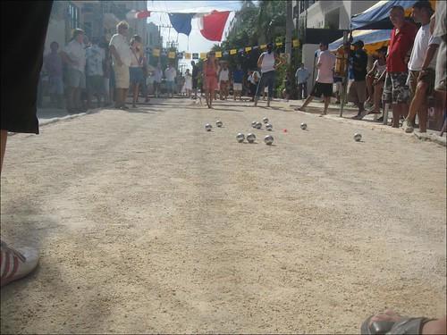 Tournoi de pétanque, Playa del Carmen