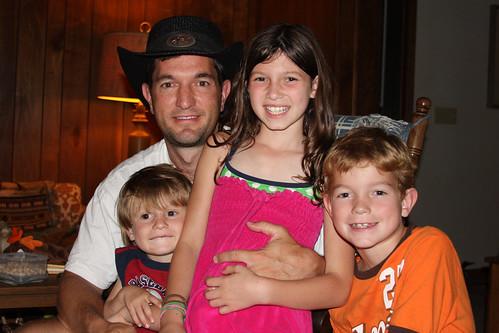 Sean, Ella, Jack & Will