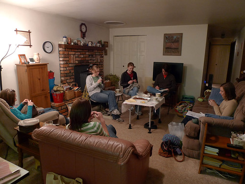 Wednesday Night Knitting & Tea