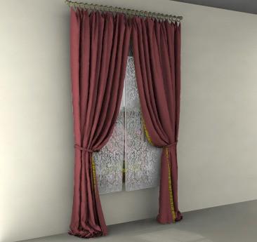 Beautiful virtual drapes
