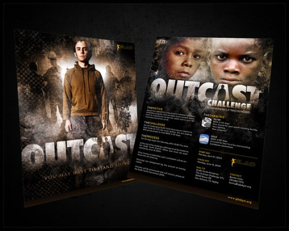 Outcast Challenge Flyer