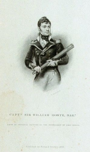 Sir William Hoste, 1780-1828