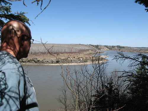 further down the trail, on the North Saskatchewan portion