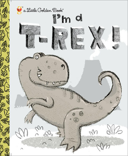 I'm a T.Rex! cover sketch