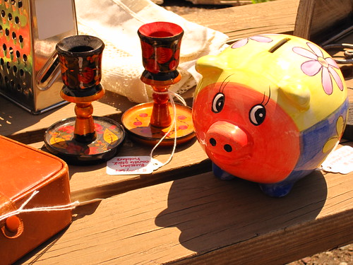 You may have a piggy bank...