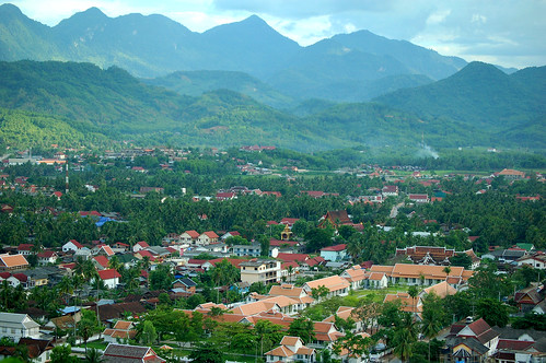 View from Phou Si Hill