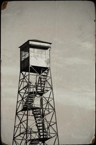 Duncan Fire Tower with Texture
