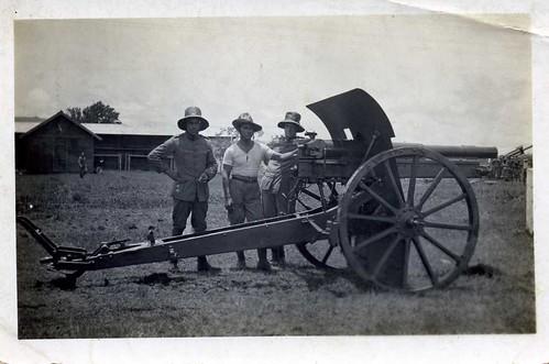 De 7,5 Long/30 te Batoedjadjor , Ned. Indië , eind jaren 30