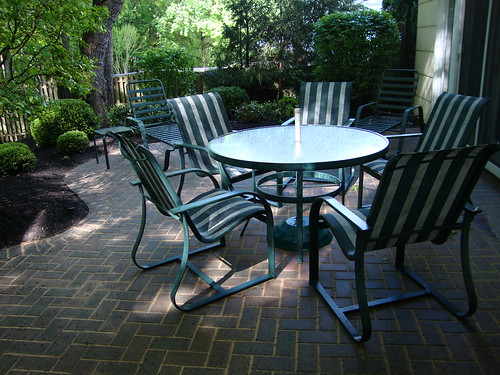 Spring Cleanup:  Clean Patio