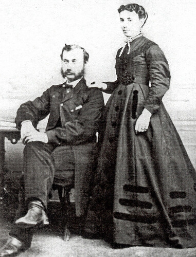 Henry and Charlotte Tufford by you.
